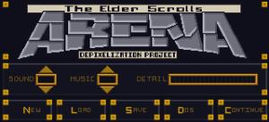 ESC menu (redone)